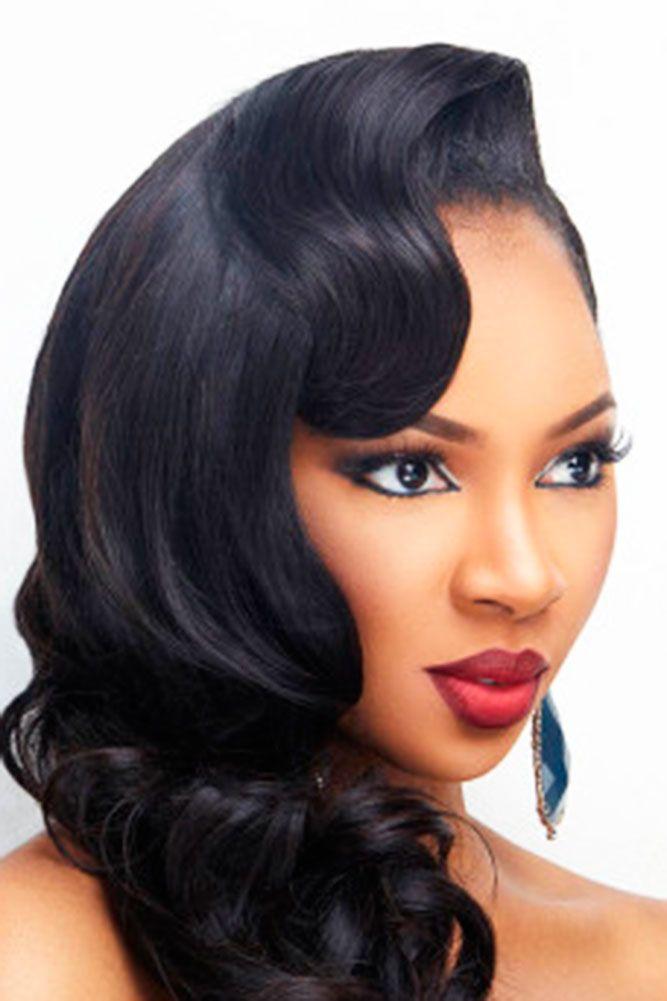 Super 1000 Ideas About Black Wedding Hairstyles On Pinterest Wedding Short Hairstyles Gunalazisus