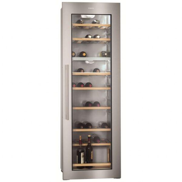 AEG INTEGRATED WINE COOLER GLASS STAINLESS STEEL DOOR