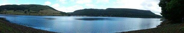 Peak District, Lady Bower Lake.