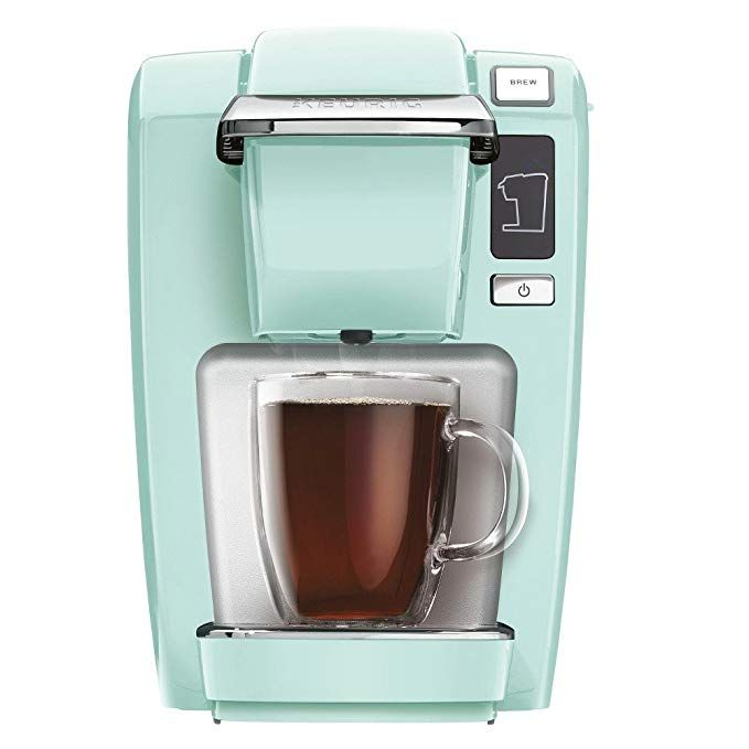 Amazon Com Keurig 5000196159 Mini K15 Single Serve K Cup Pod Coffee Maker Oasis Home Kitchen With Images Keurig Keurig Mini Single Serve Coffee Makers