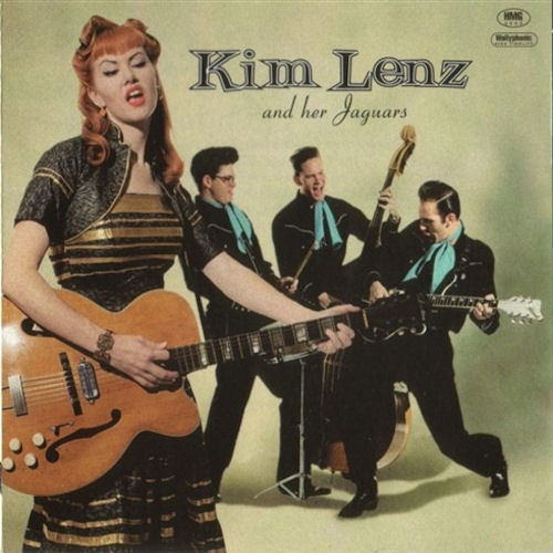 Kim Lenz and her Jaguars   This is one of the first rockabilly albums I bought.
