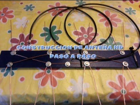 Construcción de Antena HD - High Definition paso a paso - Parte1 - YouTube