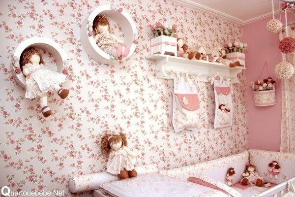 Blog Mãe de Primeira Viagem: Decoração de quarto de bebê para meninas - Tema: Bonecas