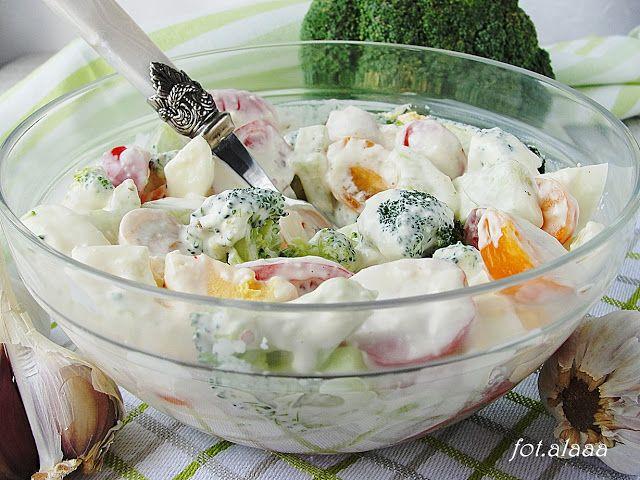 Ala piecze i gotuje: Sałatka brokułowa z jajkiem