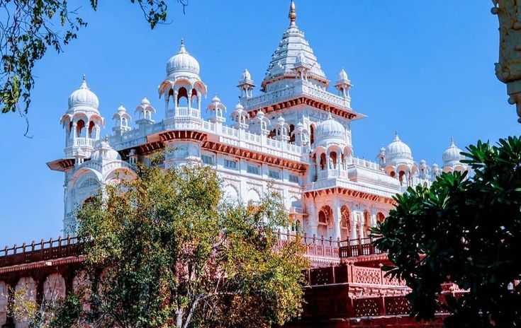 Jaswant Thada Jodhpur The Jaswant Thada Is A Cenotaph Located In Jodhpur In The Indian State Of Rajasthan It Was Built By Maharaj In 2020 Taj Mahal Landmarks Travel
