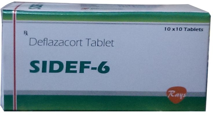 Deflazocort 6 mg  #rays #pharmaceuticals #rayspharmaceuticals