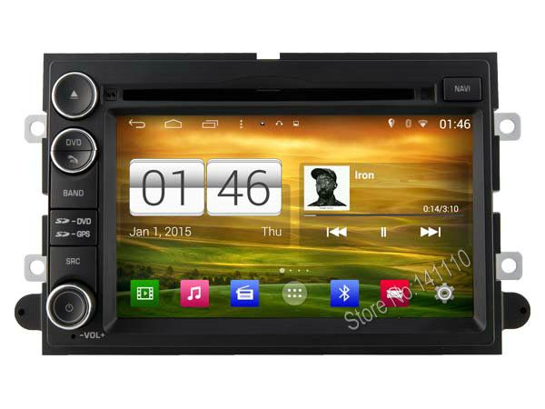 S160 Quad Core Android 4.4.4 car audio FOR FORD EDGE(2006-2010)/ EXPEDITION car dvd player head device car multimedia car stereo