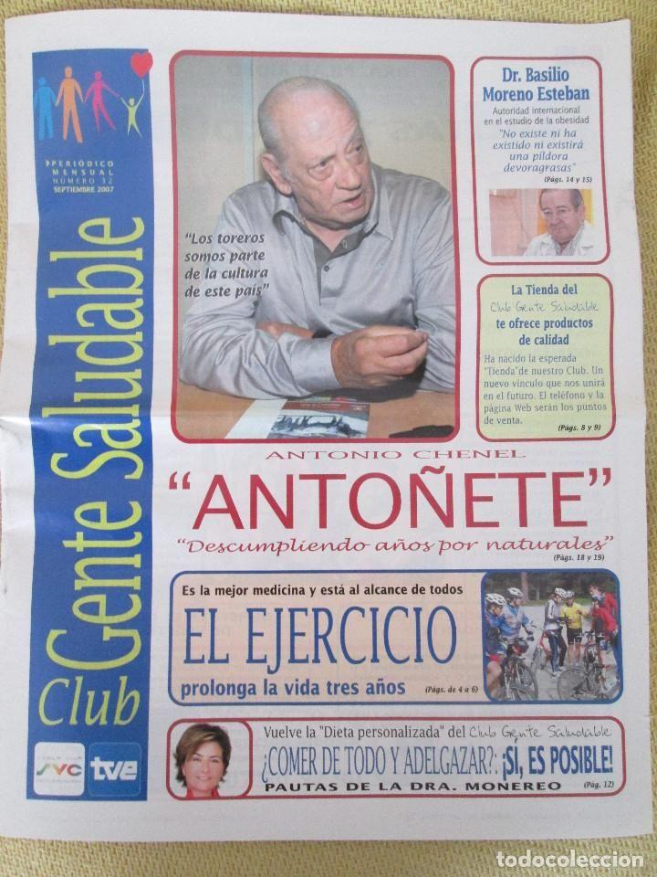 REVISTA CLUB GENTE SALUDABLE Nº 32 SEPTIEMBRE 2007