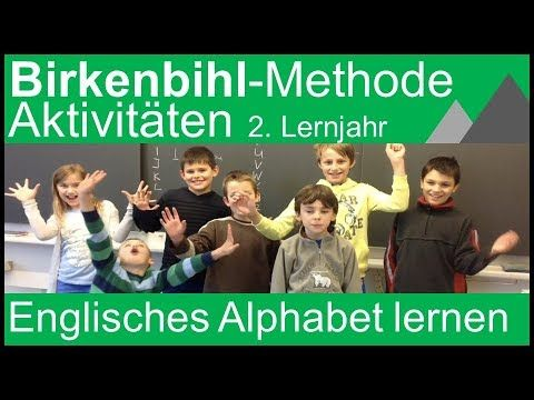 Birkenbihl-Methode / Englisches Alphabet (2. Englisch Lernjahr) - YouTube
