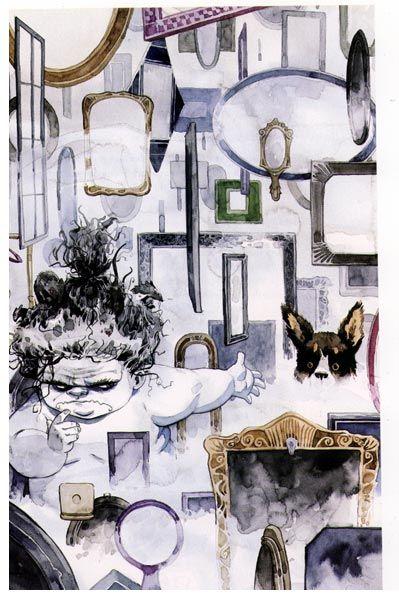 Despair - Sandman, Neil Gaiman
