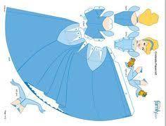 Resultado de imagem para disney princess papercraft printable