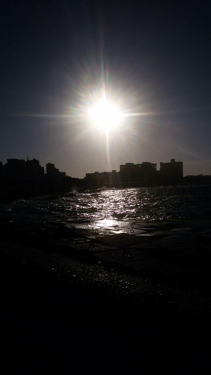 Near Citadel of Qaitbay - Alexandria, (Egypt)