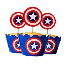 Resultado de imagen para molde de invitacion de capitan america