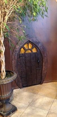 Turn an ordinary storage closet into a hobbit home.   21 DIY Ways To Make Your Child's Bedroom Magical ///// THIS. SO MUCH.