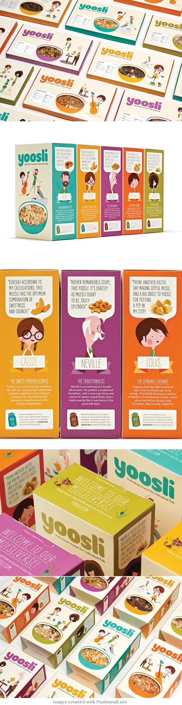 Yoosli packaging design
