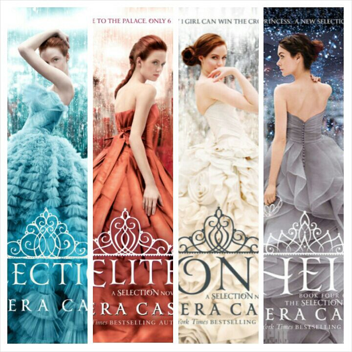 the selection books in order - Google Search