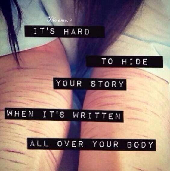 Emo Quotes About Suicide: 106 Best Self Harm/motivation Images On Pinterest