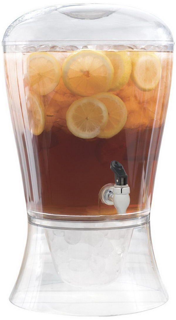 CreativeWare 3-Gallon Beverage Dispenser - Creative Drink Dispensers for Home Decoration, http://hative.com/creative-drink-dispensers-for-home-decoration/,