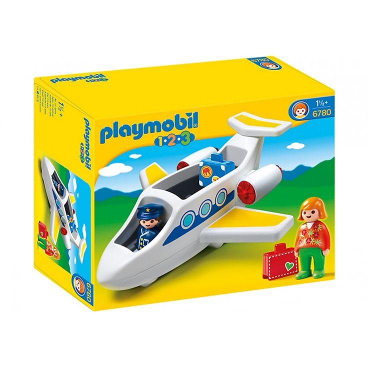 Playmobil Επιβατικό αεροπλάνο 6780