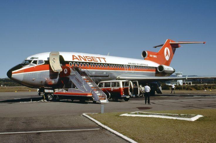 Ansett Airlines Of Australia Boeing 727-77C (VH-RMS)