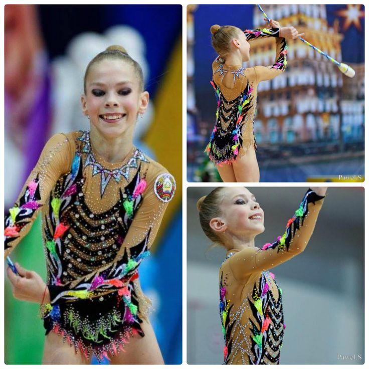 Rhythmic gymnastics leotard (photos by Pawel S.)