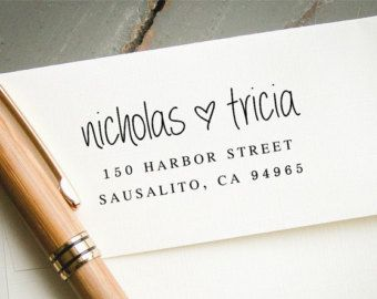 Address Stamp, Self Inking Stamp, Custom Return Address Stamp, Custom Stamp, Custom Rubber Stamp, Personalized Stamp, Wedding Stamp