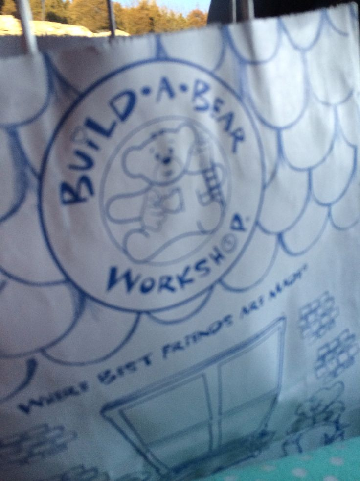 I just went to build a bear workshop