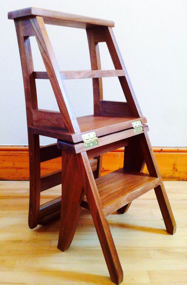 Arm morris catlin bow comfortable bow chair arm arm chairs bow arm - Ben Franklin Library Chair Step Ladder Mode