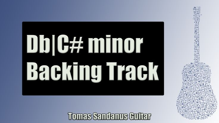 Pop Rock | Guitar Backing Track Jam in Db | C# Minor with Chords | Db | C# Pentatonic Scale