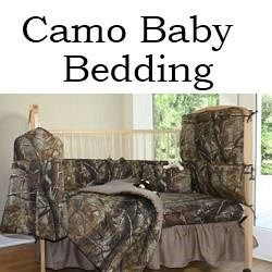 If you are looking for camo bedding babies then you have come to the right place. In addition to bedding, this site also has baby camo items such as camo baby onesies, camo strollers, camo diaper bags and more! Just scroll down and have a look. I have done A LOT of searching for camo baby stuff and hopefully you will find what you are looking for here.