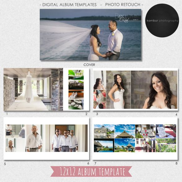 Photo Album Template Wedding Album Templates Wedding Album