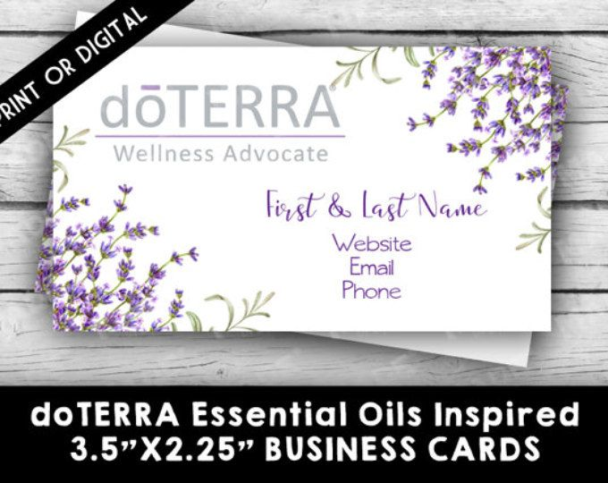 17 Best ideas about Doterra Business Cards on Pinterest