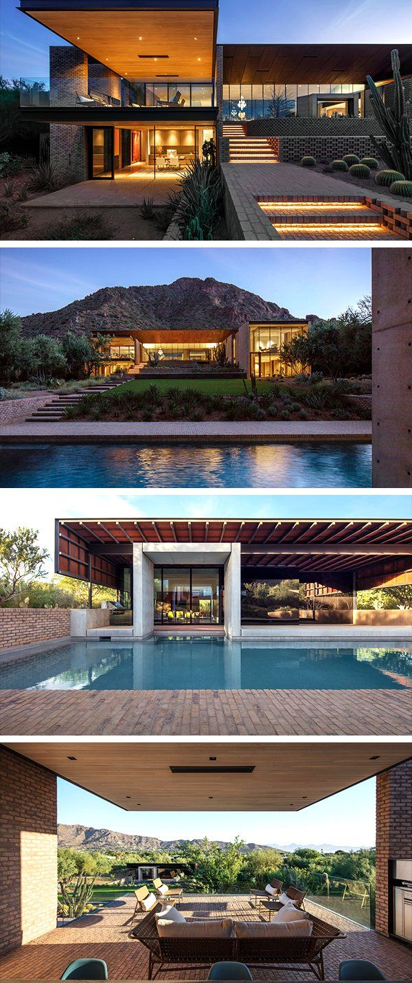 Remodeled Home In Paradise Valley Arizona: Ghost Wash House By Architecture-Infrastructure-Research