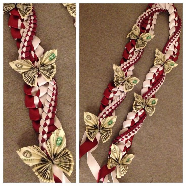 Image result for Graduation Money Lei Instructions…