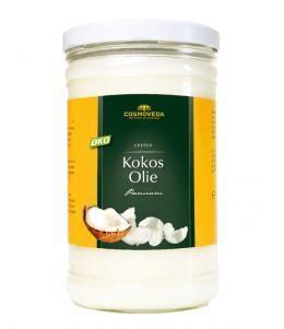 cosmoveda producerer : Kokosolie (uden smag - ideel til stegning) - 900g - Øko [CM-133249] - 133,00 DKK. set hos www.naturesource.dk