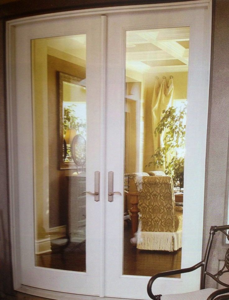 17 best images about french door hardware on pinterest for Full glass french doors