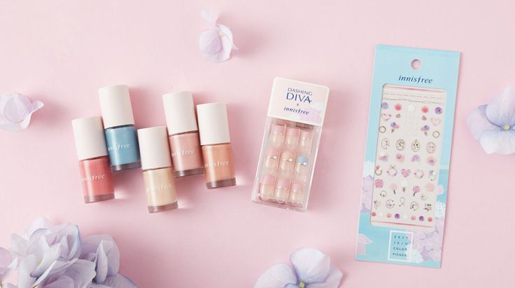 innisfree 2017Jeju Colour Picker Collection - Real Color Nails