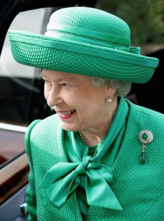 Queen Elizabeth, October 12, 2005 | Royal Hats                                                                                                                                                                                 More