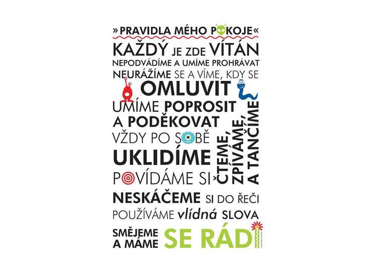 Originální plakát pro děti Připravili jsme pro Vás originální plakát Pravidel pro děti v českém jazyce. Potěší každého, kdo má rád designové doplňky a zároveň uctívá pravidla, která se snaží vštěpovat svým dětem. Doporučujeme plakát nechat zarámovat/zapaspartovat do barevného rámu. Nebo můžete rámování nechat na nás, rádi ho pro Vás zařídíme a ...