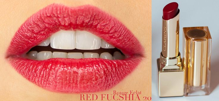 Les rouges à lèvres Clarins: Rouge éclat et Joli rouge.  #beauty #makeup #lipstick #lips #clarins #sexylips #jolirouge #rougeeclat #red #pink #coral #kiss #bouche #rouge #fuschia