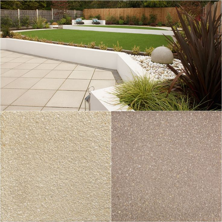 saxon textured garden paving is a practical non slip paving which is