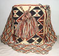 Arte Guajiro - Mochilas Wayuu, artesanias de Colombia: Mochilas Wayuu Ref DE por ARTE GUAJIRO