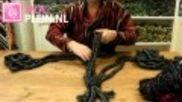 DIY: een sjaal vlechten van wol. Leuk & snel! - Instructies - Weethetsnel.nl