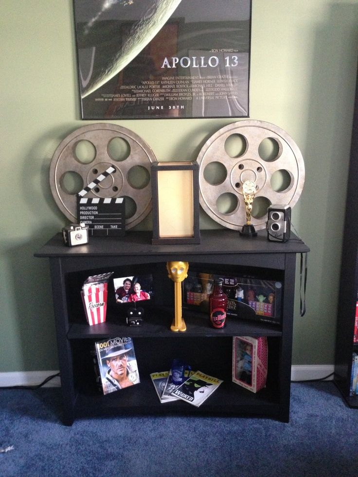 Movie Themed Rooms | Movie themed room--like this idea since we have such a big space to work with