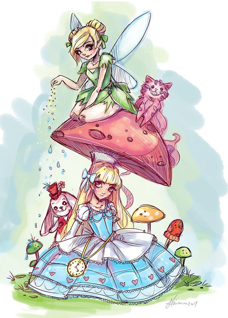 Alice in wonderland cute babe 5
