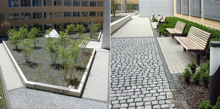 Uni-Klinik Marburg - Diagonale  Latz, Riehl Partner