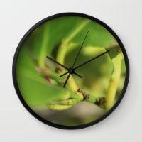 Bud Wall Clock Keep time with stylishly designed wall clocks.