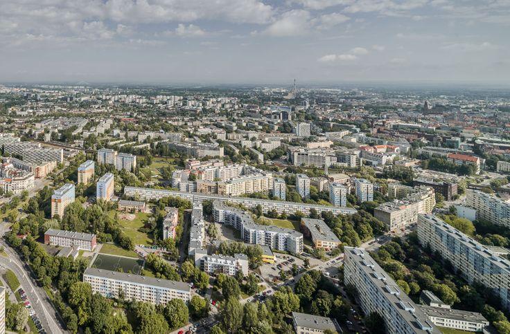Panorama Wrocławia w dzień. #Wrocław#Sky#Tower