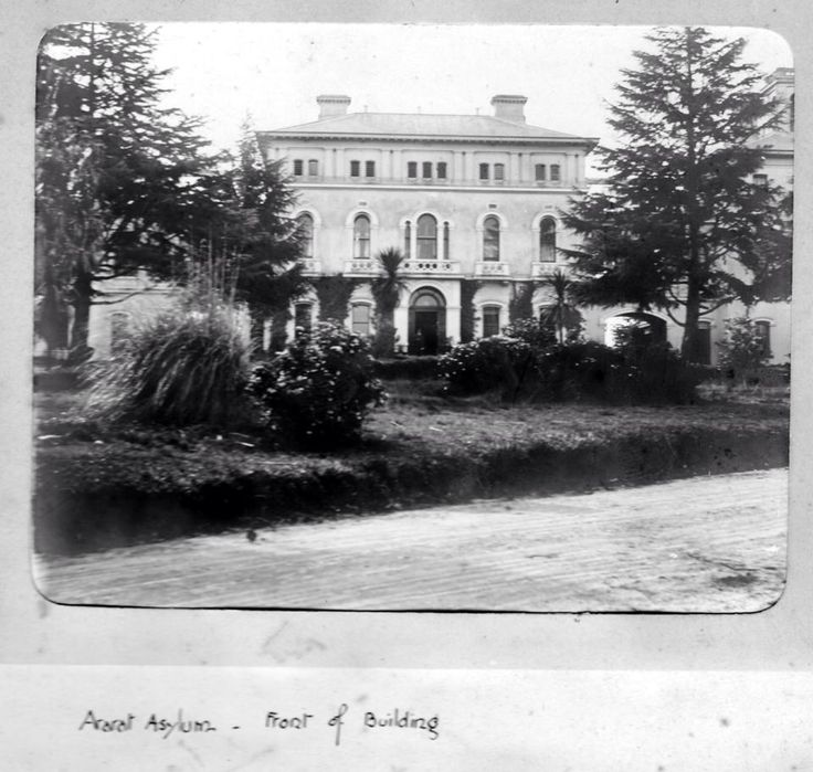 Front of Building - Ararat Lunatic Asylum/Aradale Mental Hospital. https://www.facebook.com/AradaleGhostTours