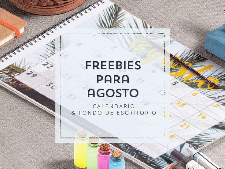 #calendario #agosto #gratis #mes #imprimible #frebbie #imprimir Calendario de Agosto – LUCIA GUTIERREZ